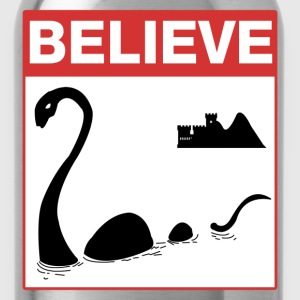 Believe Loch Ness Monster T-Shirts - Water Bottle