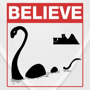 Believe Loch Ness Monster T-Shirts - Bandana