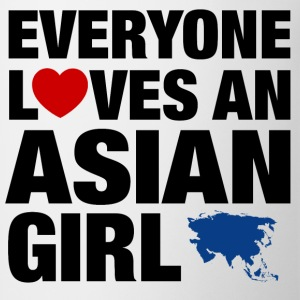 everyone loves an asian Women's T-Shirts - Coffee/Tea Mug