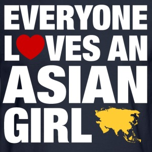 everyone loves an asian Women's T-Shirts - Men's Long Sleeve T-Shirt