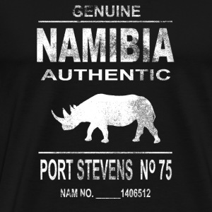 Namibia Rhino Hoodies - Men's Premium T-Shirt