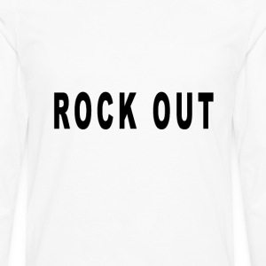 rock_out - Men's Premium Long Sleeve T-Shirt