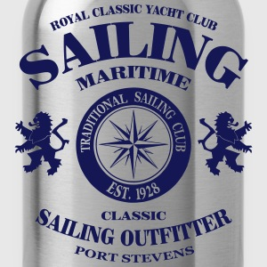 Maritime Sailing Hoodies - Water Bottle