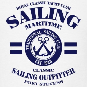 Maritime Sailing Hoodies - Men's T-Shirt
