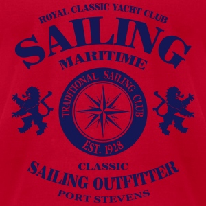 Maritime Sailing Tanks - Men's T-Shirt by American Apparel