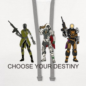 Choose Your Destiny - Contrast Hoodie