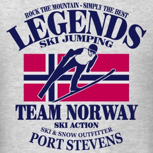 Norway Ski Jumping Hoodies - Men's T-Shirt