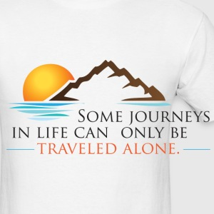 Viral Life Quote: Quotes Ken Poirot Travel Mug - Men's T-Shirt