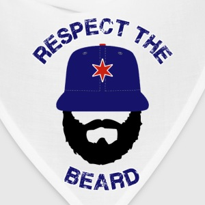 Respect The Beard Cubs T-Shirts - Bandana