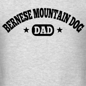 Bernese Mountain Dog dad Long Sleeve Shirts - Men's T-Shirt