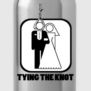 Funny Tying the Knot - Water Bottle