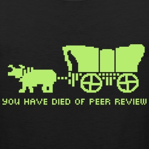 You Have Died of Peer Review Women's T-Shirts - Men's Premium Tank