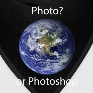 Photo? or Photoshop T-Shirts - Bandana