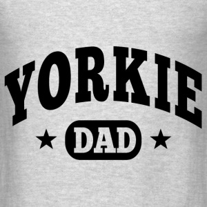 Yorkie Dad Hoodies - Men's T-Shirt