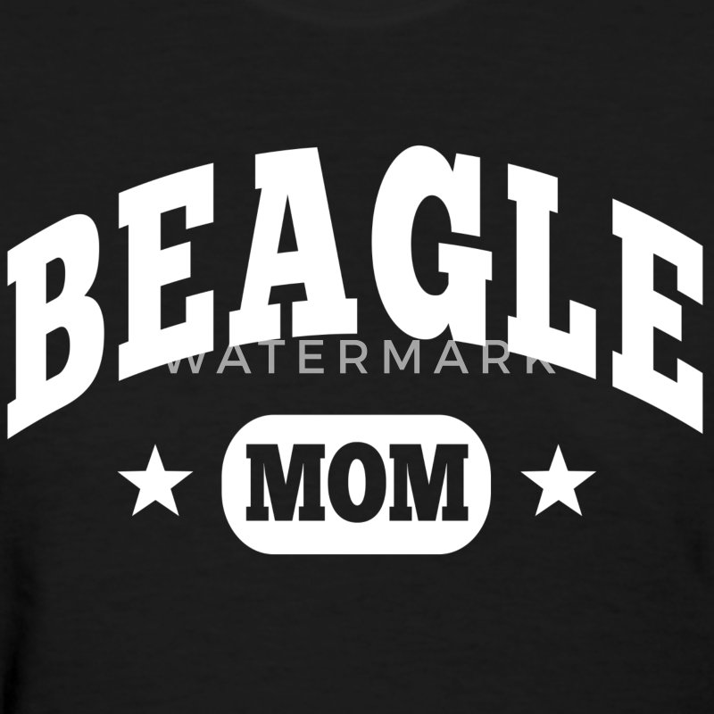 Beagle Mom Women's T-Shirts - Women's T-Shirt