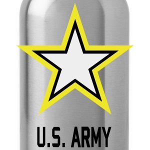 Army U.S. Star Camouflage - Water Bottle