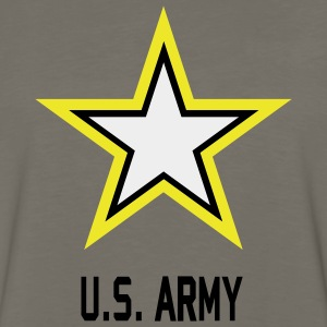 Army U.S. Star Camouflage - Men's Premium Long Sleeve T-Shirt