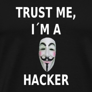 Trust Me i´m a Hacker Hoodies - Men's Premium T-Shirt