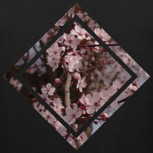Cherry Blossom Design  T-Shirts - Men's Premium Tank