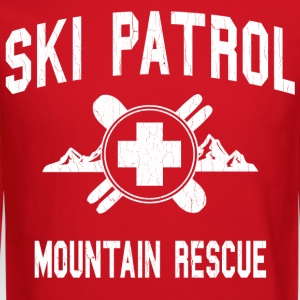 Ski Patrol - Mountain Rescue (vintage look) - Crewneck Sweatshirt