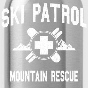 Ski Patrol - Mountain Rescue (vintage look) - Water Bottle