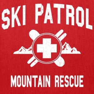 Ski Patrol - Mountain Rescue (vintage look) - Tote Bag