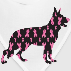 Pink Ribbon German Shepherd - Bandana