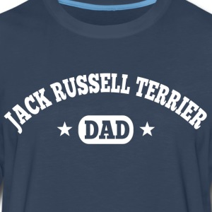 Jack Russell Terrier Dad T-Shirts - Men's Premium Long Sleeve T-Shirt