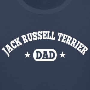 Jack Russell Terrier Dad T-Shirts - Men's Premium Tank
