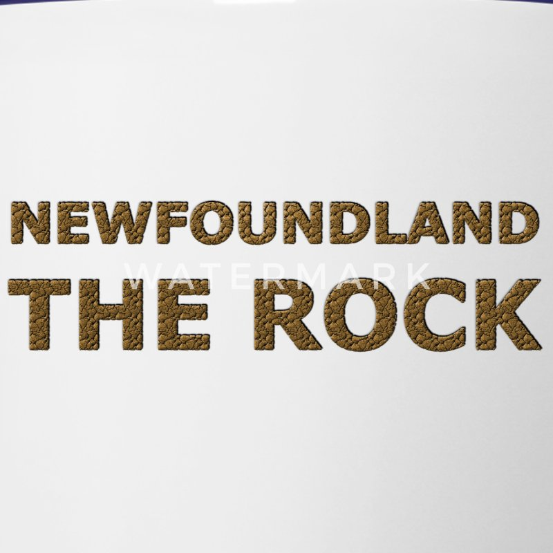 THE ROCK NEWFOUNDLAND  - Contrast Coffee Mug