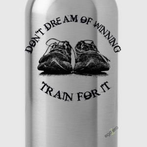 TRAIN_FOR_IT.fw.png Long Sleeve Shirts - Water Bottle