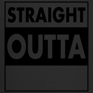 Straight Outta (Your Text) T-Shirts - Trucker Cap