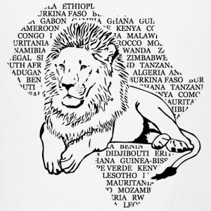Lion Africa Tanks - Men's T-Shirt