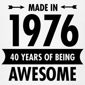 Made In 1976 - 40 Years Of Being Awesome Tanks - Men's T-Shirt