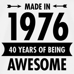 Made In 1976 - 40 Years Of Being Awesome Tanks - Men's Premium T-Shirt