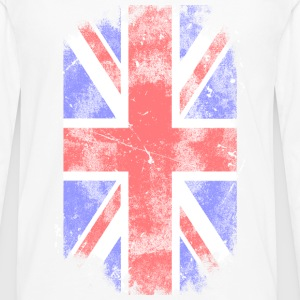 Union Jack vintage flag Women's T-Shirts - Men's Premium Long Sleeve T-Shirt