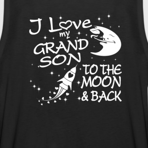 I Love My GrandSon to the Moon and Back - Men's Premium Tank