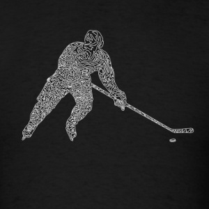 Hockey Tank Tops - Men's T-Shirt