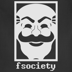 Fsociety mask - Adjustable Apron