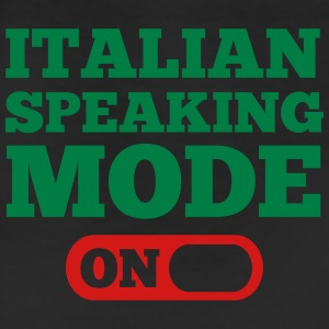 Italian Speaking Mode On T-Shirts - Leggings