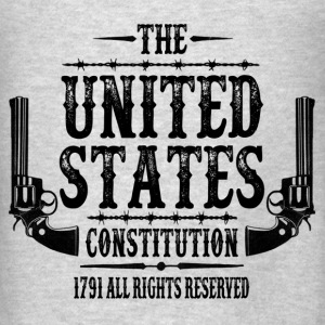 The United States Constitution, 1791 All Rights .. Hoodies - Men's T-Shirt