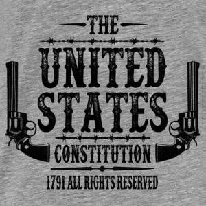 The United States Constitution, 1791 All Rights .. Hoodies - Men's Premium T-Shirt