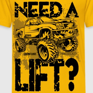 Truck Need a Lift Kids' Shirts - Toddler Premium T-Shirt