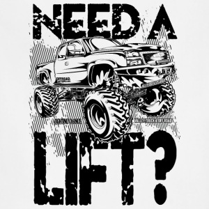 Truck Need a Lift Hoodies - Adjustable Apron