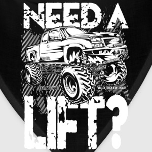 Truck Need a Lift T-Shirts - Bandana