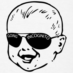 Incognito 2 Baby Bodysuits - Men's T-Shirt