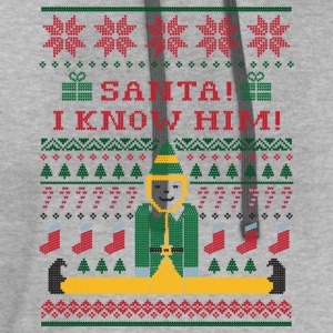 Elf Christmas Sweater T-Shirts - Contrast Hoodie