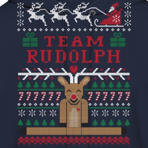 Rudolph Ugly Christmas Long Sleeve Shirts - Men's Hoodie