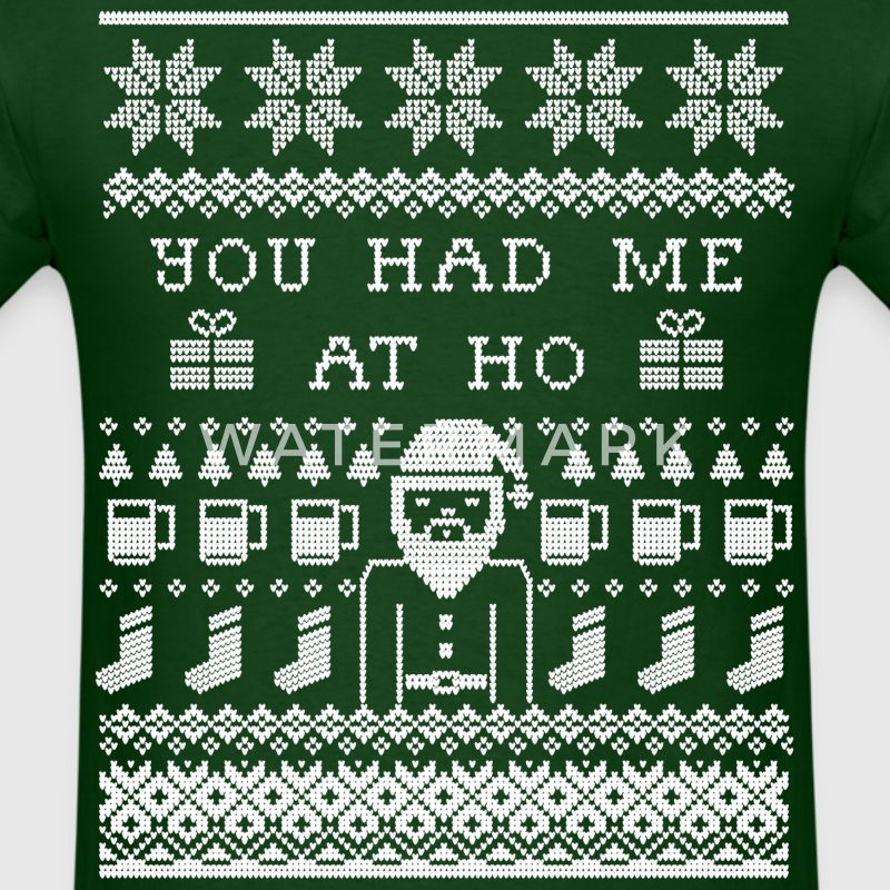 Ugly Christmas Sweater T-Shirts - Men's T-Shirt