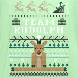 Rudolph Ugly Christmas Women's T-Shirts - Women's Flowy Tank Top by Bella
